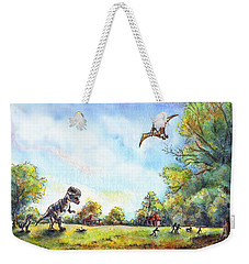 Uninvited Picnic Guests Weekender Tote Bag