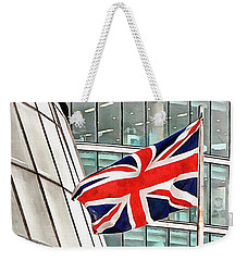 Union Jack Outside City Hall London Weekender Tote Bag