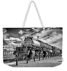 Weekender Tote Bag featuring the photograph Union Pacific 4-8-8-4 Big Boy by Paul W Faust - Impressions of Light