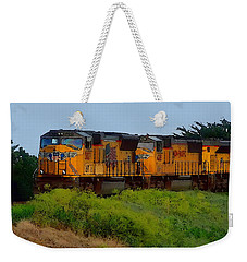 Union Pacific Line Weekender Tote Bag