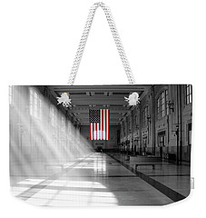 Union Station 2 - Kansas City Weekender Tote Bag by Mike McGlothlen