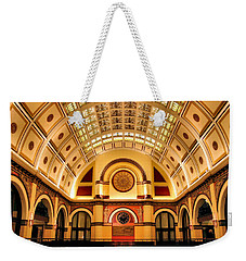 Union Station Balcony Weekender Tote Bag