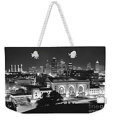 Union Station In Black And White Weekender Tote Bag