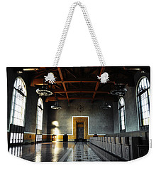 Weekender Tote Bag featuring the photograph Union Station Los Angeles by Kyle Hanson