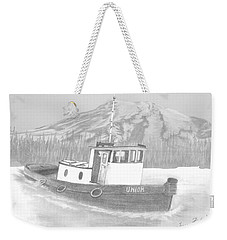 Tugboat Union Weekender Tote Bag by Terry Frederick