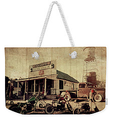 Weekender Tote Bag featuring the photograph Unionville Genral Store by Joel Witmeyer