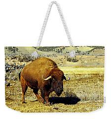 Unique Bull Buffalo II Weekender Tote Bag