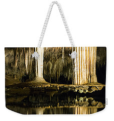 Weekender Tote Bag featuring the photograph Unique Formation by Angela DeFrias