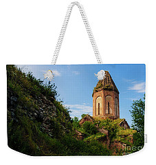 Unique Kirants Monastery On A Sunny Day, Armenia Weekender Tote Bag by Gurgen Bakhshetsyan