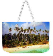 Unique Symbolic Island Art Photography Icon Zanzibar Sands Beaches Tourist Destination. Weekender Tote Bag