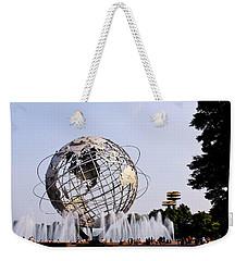 Unisphere Fountain Weekender Tote Bag