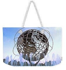 Unisphere With Fountains Weekender Tote Bag