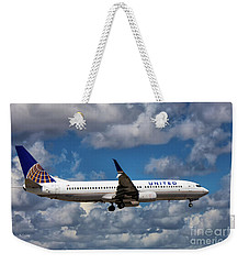 United Airlines Boeing 737 Ng Weekender Tote Bag