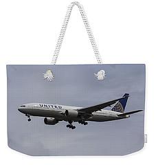 United Airlines Boeing 777 Weekender Tote Bag