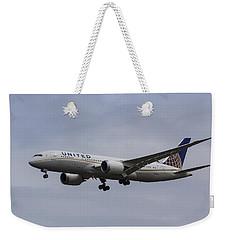 United Airlines Boeing 787 Weekender Tote Bag