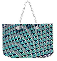 Weekender Tote Bag featuring the photograph United Nations 2 by Randall Weidner