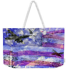 United States Armed Forces One Weekender Tote Bag