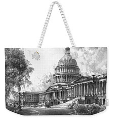United States Capitol Building Weekender Tote Bag