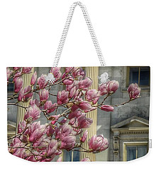 United States Capitol - Magnolia Tree Weekender Tote Bag by Marianna Mills