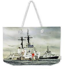 United States Coast Guard Boutwell Weekender Tote Bag