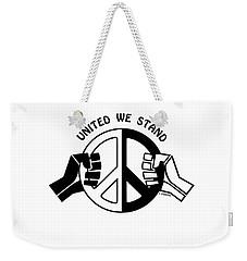 United We Stand Weekender Tote Bag