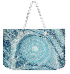 Weekender Tote Bag featuring the painting Unity by Holly Carmichael