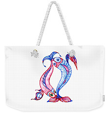 Unity Of Opposites. Perfect Couple Weekender Tote Bag