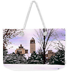 Weekender Tote Bag featuring the photograph Unity Village by Steve Karol