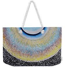 Universal Eye In Blue Weekender Tote Bag