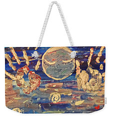 Universal Love Weekender Tote Bag