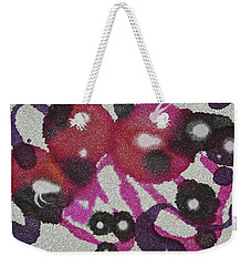 Weekender Tote Bag featuring the painting Universal by Michele Myers