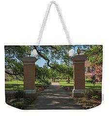 University And Johnston Entrance Weekender Tote Bag