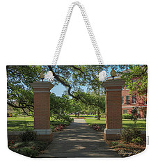 University And Johnston Entrance Weekender Tote Bag by Gregory Daley  PPSA