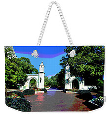 University Of Indiana Weekender Tote Bag
