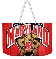 University Of Maryland Barn Door Weekender Tote Bag