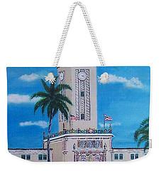 University Of Puerto Rico Tower Weekender Tote Bag