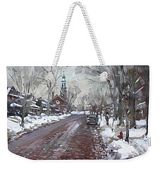 University Presbyterian Church Weekender Tote Bag by Ylli Haruni