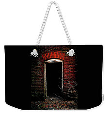Weekender Tote Bag featuring the photograph Unknowing by Jessica Brawley