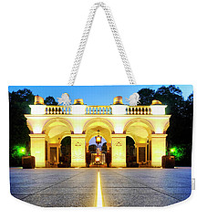 Weekender Tote Bag featuring the photograph Unknown Soldiers' Grave by Fabrizio Troiani