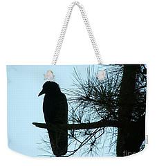 Unknown Visitor Weekender Tote Bag