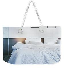 Unmade Bed Weekender Tote Bag