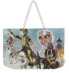 Unreachable Star Weekender Tote Bag by JA George AKA The GYPSY