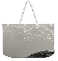 Unreal Lightning Weekender Tote Bag