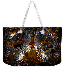 Weekender Tote Bag featuring the digital art Unsong by Vadim Epstein