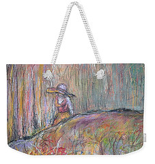 Unspoken Weekender Tote Bag by Gail Butters Cohen