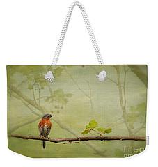Until Spring Weekender Tote Bag by Lois Bryan