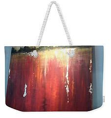 Until The Rain Comes Weekender Tote Bag by Heather Roddy