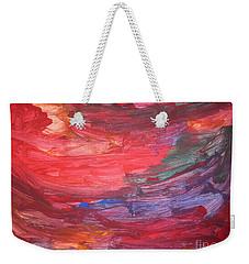 untitled 110 Original Painting Weekender Tote Bag