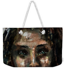 Weekender Tote Bag featuring the digital art Untitled - 24sept2017 by Jim Vance