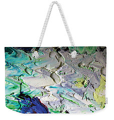Untitled Abstract With Droplet ## Weekender Tote Bag